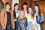 Ann Marie O'Connor, Kate, Mary and Laura Sheahan, Erin Dineen and Ciara O'Connor at the Knockanes NS night of style and fun in the Plaza Hotel on Wednesday night