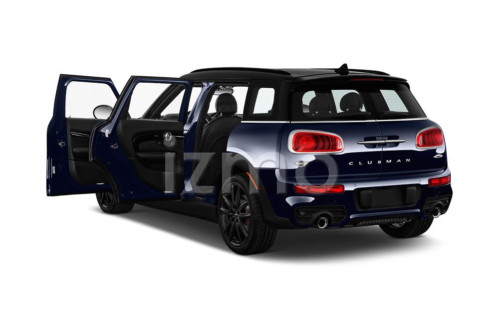 Car images close up view of a 2019 Mini Clubman John Cooper Works ALL4 5 Door Wagon doors