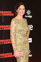 "Cuca Escribano attends ""La Ignorancia de la Sangre"" Premiere at Capitol Cinema in Madrid, Spain. November 13, 2014. (ALTERPHOTOS/Carlos Dafonte) /NortePhoto nortephoto@gmail.com"
