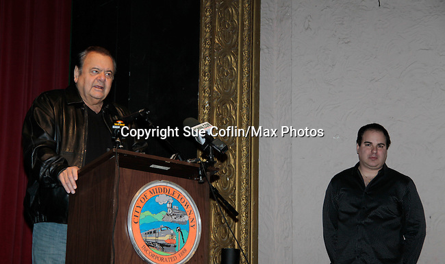 Kenneth Del Vecchio & Paul Sorvino at Press Conference 1/13/15 and shooting the movie Price For Freedom which tells the story of an Iranian Jew who worked to counter oppression after the 1979 Islamic Revolution was shot in Orange County and Italy and premieres May 29, 2015 at the Hoboken Film Festival, Middletown, NY. (Photo by Sue Coflin/Max Photos)