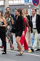 Soir&eacute;e d'avant-mariage du Prince Ernst junior de Hanovre et de Ekaterina Malysheva, &agrave; la Brasserie Ernst August Brauhaus, &agrave; Hanovre.<br /> Allemagne, Hanovre, 7 juillet 2017.<br /> Pre wedding party of Prince Ernst Junior of Hanover and Ekaterina Malysheva at the Ernst August Brauhaus restaurant in Hanover.<br /> Germany, Hanover, 7 july 2017<br /> Pic : Princess Charlotte Casiraghi