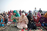 People gets together for the Eid Prayer at the  Srinagar Martyr's Graveyard during on 17, November 2010