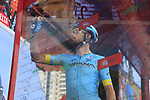 Dario Cataldo (ITA) Astana Pro Team at sign on before the start of Stage 4 of La Vuelta 2019 running 175.5km from Cullera to El Puig, Spain. 27th August 2019.<br /> Picture: Eoin Clarke | Cyclefile<br /> <br /> All photos usage must carry mandatory copyright credit (© Cyclefile | Eoin Clarke)