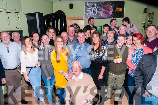 50th Birthday : John Dore, Listowel celebrating his 50th birthday with family & friends at the Kingdom Bar, Listowel on Saturday night last.