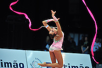 Daria Dmitrieva of Russia performs at 2011 World Cup at Portimao, Portugal on May 01, 2011.  .