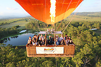 20150311 March 11 Hot Air Balloon Gold Coast