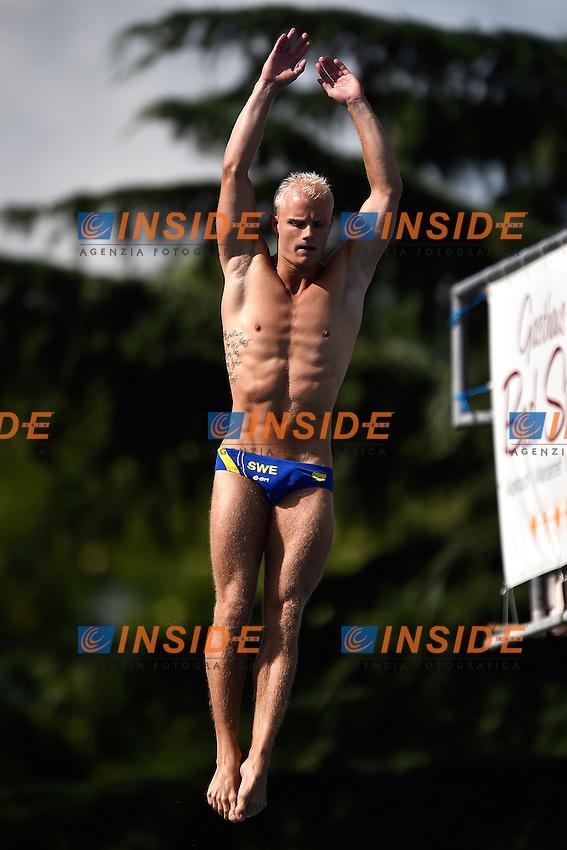 TOLVERS Jesper SWE <br /> Men's 3m Springboard Preliminary - Trampolino 3m Uomini <br /> Bolzano 01-08-2014 <br /> 20 Fina Diving Grand Prix <br /> Photo Andrea Staccioli/Insidefoto