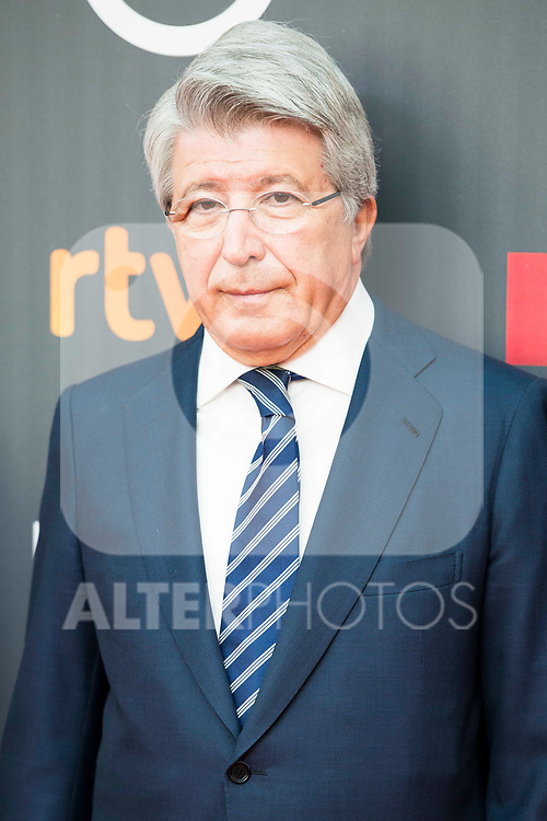 "Enrique Cerezo attends to the presentation of the ""Premios Platino"" at Palacio de Cristal in Madrid. April 07, 2017. (ALTERPHOTOS/Borja B.Hojas)"