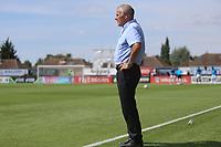 Peter Taylor manager of Dagenham  during Boreham Wood vs Dagenham & Redbridge, Vanarama National League Football at Meadow Park on 4th August 2018