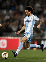 Europa League quarter-final 1st leg <br /> S.S. Lazio - FC Salzburg  Olympic Stadium Rome, April 5, 2018.<br /> Lazio's Felipe Anderson scores during the Europa League match between Lazio and Salzburg at Rome's Olympic stadium, April 5, 2018.<br /> UPDATE IMAGES PRESS/Isabella Bonotto