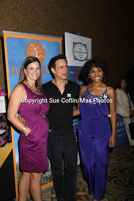 The Young and The Restless Christian LeBlanc - lead actor nominee & presenter poses with Angell Conwell in the gifting suite at the 38th Annual Daytime Entertainment Emmy Awards 2011 held on June 19, 2011 at the Las Vegas Hilton, Las Vegas, Nevada. (Photo by Sue Coflin/Max Photos)