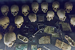 Skulls & Belongings Of People Killed In 1994 Genocide, Kigali Genocide Museum