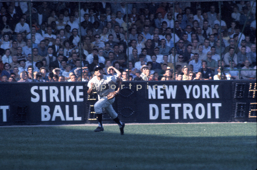 Detroit Tiger Rocky Colavito (7) in action during a game against the New York Yankees at Tigers Stadium in Detroit, Michigan in Pittsburgh, Pennsylvania.  Rocky Colavito played for 14 years with 6 different teams.