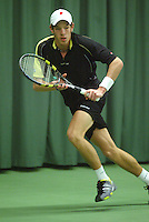 10-3-06, Netherlands, tennis, Rotterdam, National indoor junior tennis championchips, Bart Brons