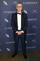 Guy Chambers<br /> arriving for the LUMINOUS Gala 2019 at the Roundhouse Camden, London<br /> <br /> ©Ash Knotek  D3522 01/10/2019