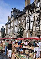 Europe/France/Bretagne/35/Ille-et-Vilaine/Rennes: Marché place des Lices