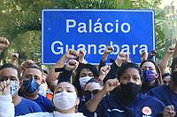 20/06/2020 - PROTESTO DE TRABALHADORES DO SAMU