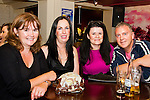 Annemarie Connolly, Christine Fitzgerald, Jacqui Dempsey and Frank Dempsey enjoying a night out in Barroco.<br /> Picture: Shane Maguire / www.newsfile.ie