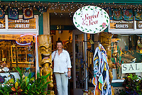 Sand & Sea store in downtown Paia