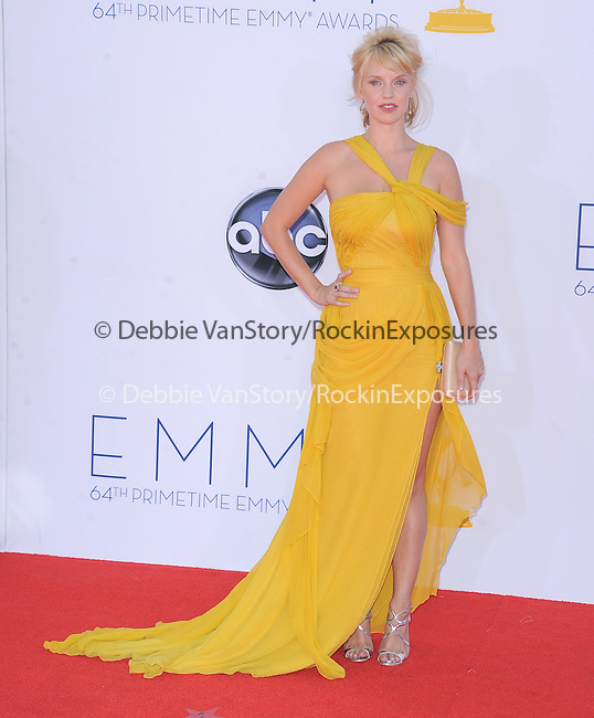 Kelli Garner at The 64th Anual Primetime Emmy Awards held at Nokia Theatre L.A. Live in Los Angeles, California on September  23,2012                                                                   Copyright 2012 Hollywood Press Agency