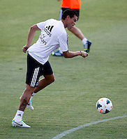 Pepe during Real Madrid´s first training session of 2013-14 seson. July 15, 2013. (ALTERPHOTOS/Victor Blanco) ©NortePhoto