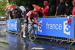 Andre Greipel (GER) Lotto-Soudal in action during Stage 1, a 14km individual time trial around Dusseldorf, of the 104th edition of the Tour de France 2017, Dusseldorf, Germany. 1st July 2017.<br /> Picture: Eoin Clarke | Cyclefile<br /> <br /> <br /> All photos usage must carry mandatory copyright credit (&copy; Cyclefile | Eoin Clarke)