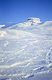 SWEDEN, Swedish Lapland, Bjorkliden, Snow Montains
