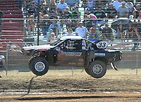 Apr 16, 2011; Surprise, AZ USA; LOORRS driver C.J. Greaves (33) during round 3 at Speedworld Off Road Park. Mandatory Credit: Mark J. Rebilas-.