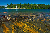 sailing on Carliong Bay<br />