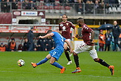 18th March 2018, Stadio Olimpico di Torino, Turin, Italy; Serie A football, Torino versus Fiorentina; Jordan Veretout shoots and scores the goal for 0-1 for Fiorentina