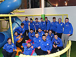 Drogheda United team pictured in the Play Zone at Scotch Hall. Photo:Colin Bell/pressphotos.ie