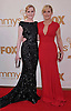 "EVAN RACHEL WOOD AND KATE WINSLET.attends the Academy of Television Arts & Sciences 63rd Primetime Emmy Awards at Nokia Theatre L.A. Live, Los Angeles_18/09/2011.Mandatory Photo Credit: ©Crosby/Newspix International. .**ALL FEES PAYABLE TO: ""NEWSPIX INTERNATIONAL""**..PHOTO CREDIT MANDATORY!!: NEWSPIX INTERNATIONAL(Failure to credit will incur a surcharge of 100% of reproduction fees).IMMEDIATE CONFIRMATION OF USAGE REQUIRED:.Newspix International, 31 Chinnery Hill, Bishop's Stortford, ENGLAND CM23 3PS.Tel:+441279 324672  ; Fax: +441279656877.Mobile:  0777568 1153.e-mail: info@newspixinternational.co.uk"