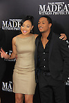 Cymphonique and Romeo Miller stars in Tyler Perry's Madea's Witness Protection NYC Premiere on June 25, 2012 at AMC Lincoln Square Theater, New York City, NY. (Photo by Sue Coflin/Max Photos)