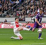 Nederland, Amsterdam, 22 april 2012.Seizoen 2011/2012.Eredivisie.Ajax_FC Groningen.Derk Boerrigter van Ajax scoort de 1-0