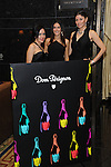 Rianea Colon, Juliana Medeiros, Martha Moya at the Dom Perignon Champagne event to pay tribute to Andy Warhol at the Mandarin Bar inside Mandarin Oriental, Las Vegas, NV, November 10, 2010 © Al Powers / Vegas Magazine