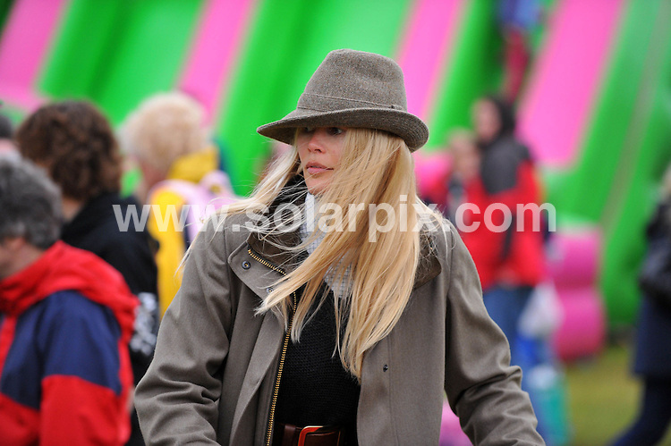 **ALL ROUND PICTURES FROM SOLARPIX.COM**.**WORLDWIDE SYNDICATION RIGHTS**.**NOT FOR UK NEWSPAPER PUBLICATION (HARD COPY OR ELECTRONIC)**.Claudia Schiffer with her husband Matthew Vaughn and her children daughter Clementine de Vere Drummond at the Suffolk Agricultural Association Show in Ipswich in Suffolk in the UK. .This pic:Claudia Schiffer.JOB REF:6524-CSH        DATE:28_05_08.**MUST CREDIT  ALBANPIX / SOLARPIX.COM OR DOUBLE FEE WILL BE CHARGED* *UNDER NO CIRCUMSTANCES IS THIS IMAGE TO BE REPRODUCED FOR ANY ONLINE EDITION WITHOUT PRIOR PERMISSION*
