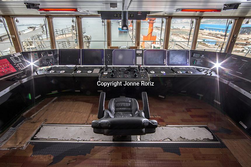 China- 10/12/2013 - Flotel unidade Olympia da GranEnergia na cidade de Luoyang - China. Foto Jonne Roriz