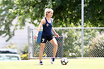 CARY, NC - JUNE 09: McCall Zerboni. The North Carolina Courage held a training session on June 9, 2017, at WakeMed Soccer Park Field 5 in Cary, NC.