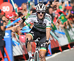 Sam Bennett (IRL) Bora-Hansgrohe wins Stage 14 of La Vuelta 2019  running 188km from San Vicente de la Barquera to Oviedo, Spain. 7th September 2019.<br /> Picture: Karlis | Cyclefile<br /> <br /> All photos usage must carry mandatory copyright credit (© Cyclefile | Karlis)