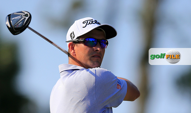 Adam Scott (AUS) during round 1of the Players, TPC Sawgrass, Championship Way, Ponte Vedra Beach, FL 32082, USA. 12/05/2016.<br /> Picture: Golffile | Fran Caffrey<br /> <br /> <br /> All photo usage must carry mandatory copyright credit (&copy; Golffile | Fran Caffrey)