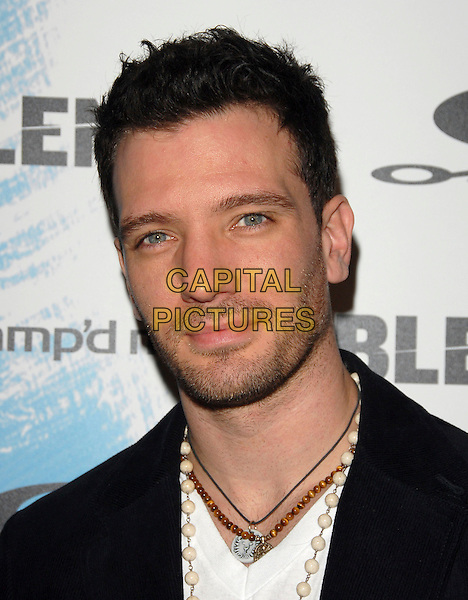 JC CHASEZ.The Oakley, Blender Magazine & AMP'D Mobile X Games Kick Off Party held at Element in Hollywood, California, USA..August 2nd 2006.Ref: DVS.headshot portrait stubble necklaces beads.www.capitalpictures.com.sales@capitalpictures.com.©Debbie VanStory/Capital Pictures