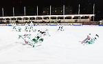 Stockholm 2015-01-06 Bandy Elitserien Hammarby IF - V&auml;ster&aring;s SK :  <br /> V&auml;ster&aring;s spelare jublar p&aring; isen efter matchen mellan Hammarby IF och V&auml;ster&aring;s SK <br /> (Foto: Kenta J&ouml;nsson) Nyckelord:  Elitserien Bandy Zinkensdamms IP Zinkensdamm Zinken Hammarby Bajen HIF V&auml;ster&aring;s VSK jubel gl&auml;dje lycka glad happy