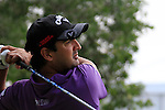Shiv Kapur tees off on the 10th tee during Thusday Day 1 of the Abu Dhabi HSBC Golf Championship, 20th January 2011..(Picture Eoin Clarke/www.golffile.ie)