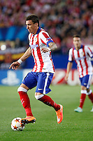 Mandzukic of Atletico de Madrid during Champios Legue soccer match between Atletico de Madrid V Malmoe al Vicente Calderon Stadium. October 22, 2014. (ALTERPHOTOS/Caro Marin)