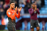 Martin Olsson of Swansea City applauds the fans at the final whistle of the Sky Bet Championship match between Aston Villa and Swansea City at Villa Park in Birmingham, England, UK.  Saturday 20 October  2018