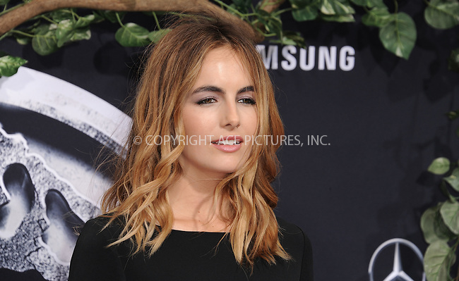 WWW.ACEPIXS.COM<br /> <br /> June 9 2015, LA<br /> <br /> Camilla Belle arriving at the world premiere of 'Jurassic World' at the Dolby Theatre on June 9, 2015 in Hollywood, California. <br /> <br /> <br /> By Line: Peter West/ACE Pictures<br /> <br /> <br /> ACE Pictures, Inc.<br /> tel: 646 769 0430<br /> Email: info@acepixs.com<br /> www.acepixs.com