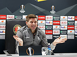27.11.2019: Rangers press conference, Rotterdam: Steven Gerrard