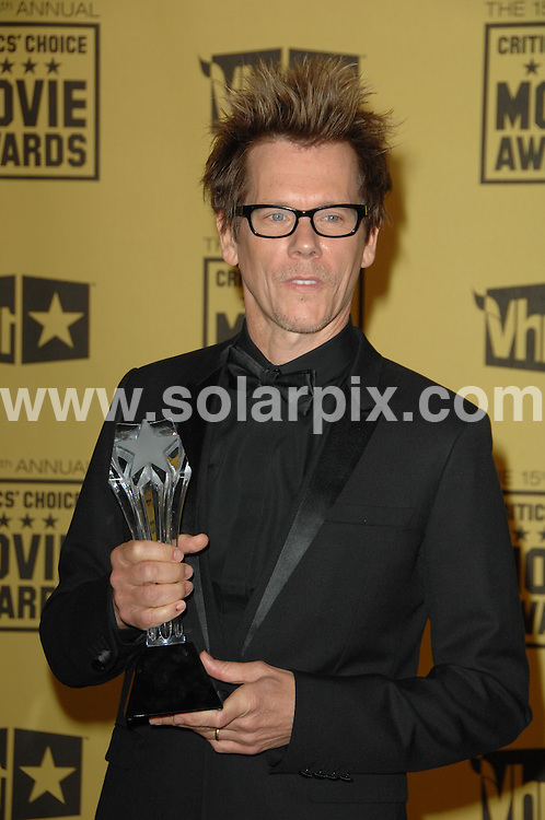 **ALL ROUND PICTURES FROM SOLARPIX.COM**.**SYNDICATION RIGHTS FOR UK, AUSTRALIA, DENMARK, PORTUGAL, S. AFRICA, SPAIN & DUBAI (U.A.E) ONLY**.15th Annual Critics' Choice Movie Awards Press Room at the The Hollywood Palladium , Hollywood, CA, USA. 15 January 2010..This pic: Kevin Bacon..JOB REF: 10479 PHZ Charlotte   DATE: 15_01_2010.**MUST CREDIT SOLARPIX.COM OR DOUBLE FEE WILL BE CHARGED**.**MUST NOTIFY SOLARPIX OF ONLINE USAGE**.**CALL US ON: +34 952 811 768 or LOW RATE FROM UK 0844 617 7637**