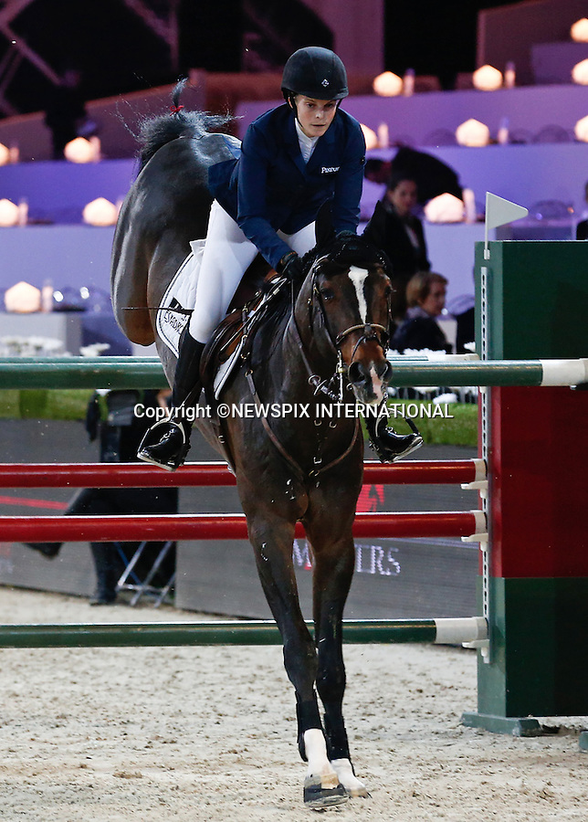 4.12.2014; Paris, France: ATHINA ONASSIS<br /> participates in the Masters Grand Slam competition, the Gucci Paris Masters 2014 at Paris Nord Villepinte.<br /> Mandatory Credit Photos: &copy;Huitel-Crystal/NEWSPIX INTERNATIONAL<br /> <br /> **ALL FEES PAYABLE TO: &quot;NEWSPIX INTERNATIONAL&quot;**<br /> <br /> PHOTO CREDIT MANDATORY!!: NEWSPIX INTERNATIONAL(Failure to credit will incur a surcharge of 100% of reproduction fees)<br /> <br /> IMMEDIATE CONFIRMATION OF USAGE REQUIRED:<br /> Newspix International, 31 Chinnery Hill, Bishop's Stortford, ENGLAND CM23 3PS<br /> Tel:+441279 324672  ; Fax: +441279656877<br /> Mobile:  0777568 1153<br /> e-mail: info@newspixinternational.co.uk