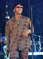 SAN FRANCISCO, CALIFORNIA - AUGUST 11: Anderson .Paak performs during the 2019 Outside Lands Music And Arts Festival at Golden Gate Park on August 11, 2019 in San Francisco, California. Photo: imageSPACE/MediaPunch